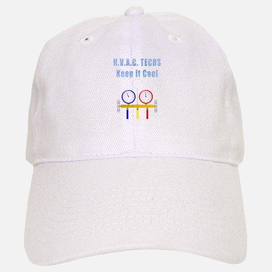 HVAC Techs Keep it Cool Baseball Baseball Baseball Cap