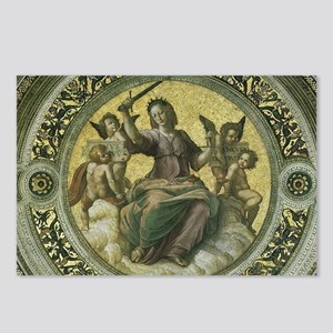 Justice by Raphael Postcards (Package of 8)