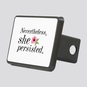 Nevertheless She Persisted Rectangular Hitch Cover