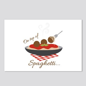 On Top Of Spaghetti Postcards (Package of 8)
