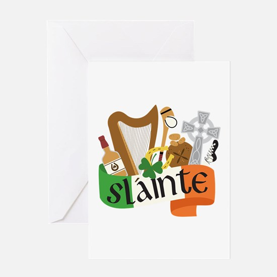 Slainte Greeting Cards
