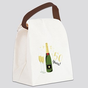 50 Years Canvas Lunch Bag