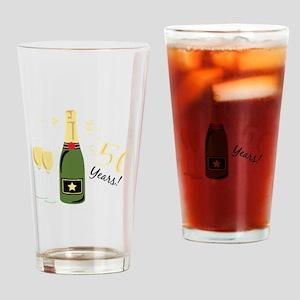 50 Years Drinking Glass