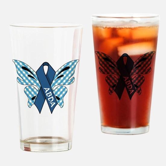 AWARENESS BUTTERFLIES Drinking Glass