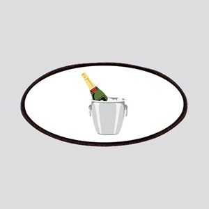 Champagne In Bucket Patch