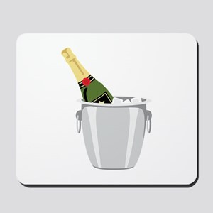 Champagne In Bucket Mousepad
