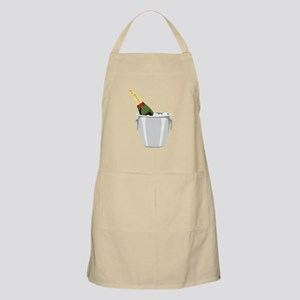 Champagne In Bucket Apron