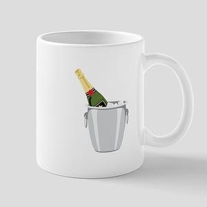 Champagne In Bucket Mugs