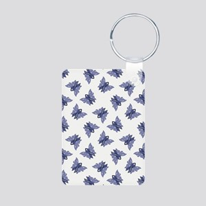 AWARENESS BUTTERFLIES Aluminum Photo Keychain