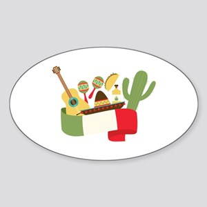 Mexican Party Sticker