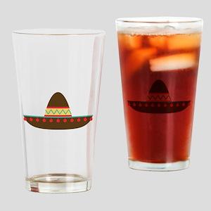 Sombrero Drinking Glass