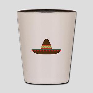 Sombrero Shot Glass