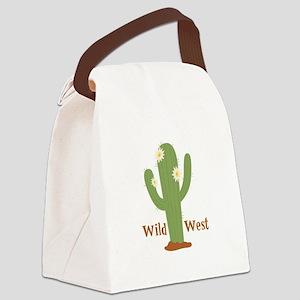 Wild West Canvas Lunch Bag