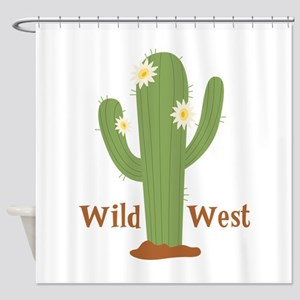 Wild West Shower Curtain