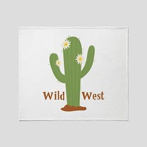 Wild West Throw Blanket