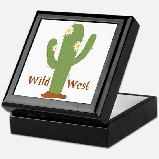 Wild West Keepsake Box