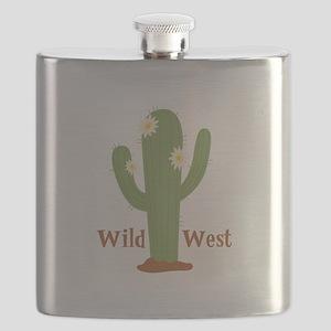 Wild West Flask