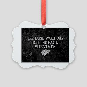 GOT Lone Wolf Dies Ornament