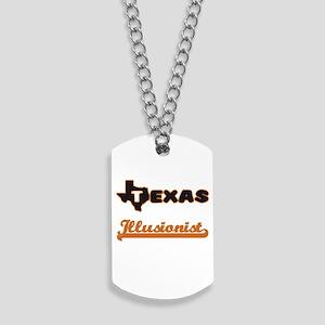 Texas Illusionist Dog Tags
