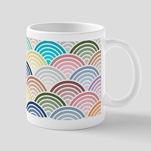 Scallops in Trending Colors Mugs