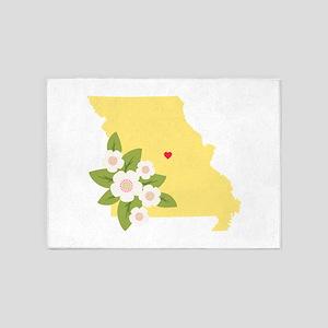 Missouri State 5'x7'Area Rug