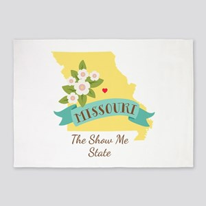 Show Me State 5'x7'Area Rug