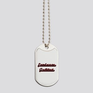 Landscape Architect Classic Job Design Dog Tags