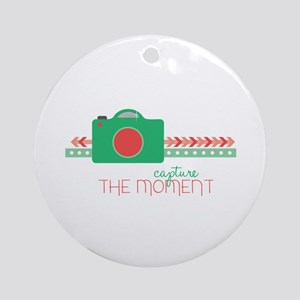 Capture the Moment Ornament (Round)