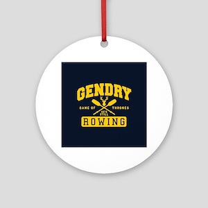 GOT Gendry Rowing Team Round Ornament