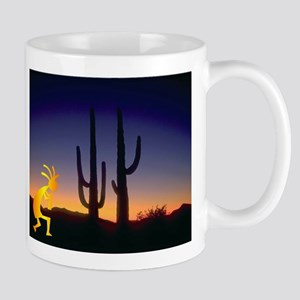 Cactus and Kokopelli Mug