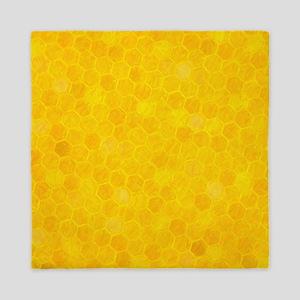 Artsy Honeycomb Queen Duvet