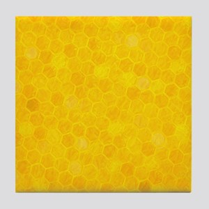 Artsy Honeycomb Tile Coaster