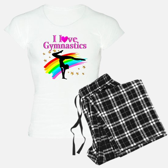 BORN A GYMNAST Pajamas