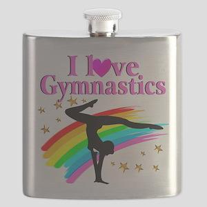 BORN A GYMNAST Flask