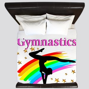 BORN A GYMNAST King Duvet