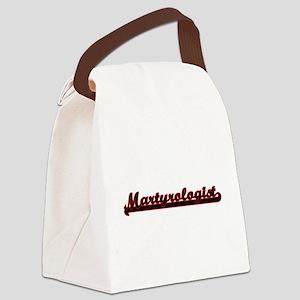 Martyrologist Classic Job Design Canvas Lunch Bag