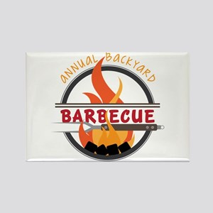 Backyard Barbecue Magnets