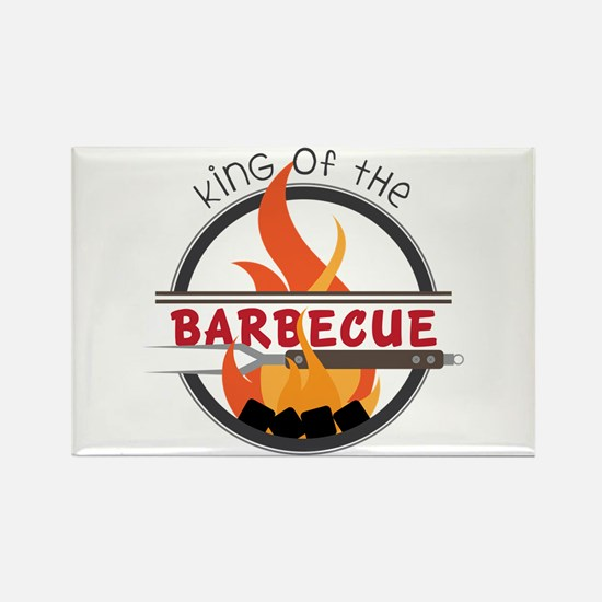 King of Barbecue Magnets