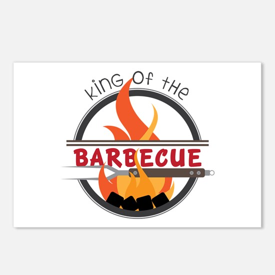 King of Barbecue Postcards (Package of 8)