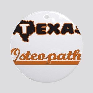 Texas Osteopath Ornament (Round)