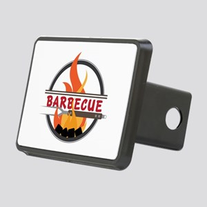Barbecue Flame Logo Hitch Cover