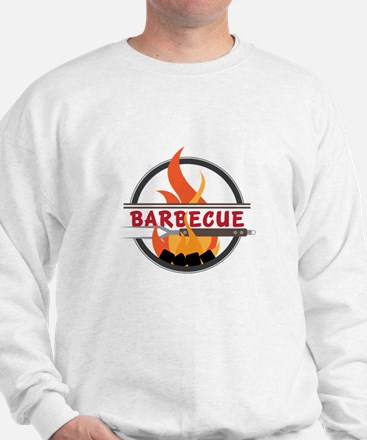 Barbecue Flame Logo Sweatshirt