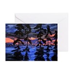 Swamp Sun Set Note Cards (Pk of 10)