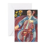 Cello Player note Cards (Pk of 10)