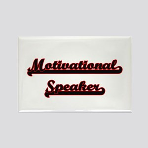 Motivational Speaker Classic Job Design Magnets