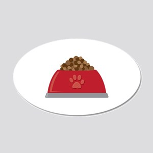 Dog Food Bowl Wall Decal
