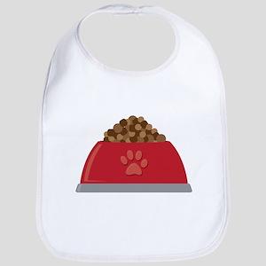 Dog Food Bowl Bib