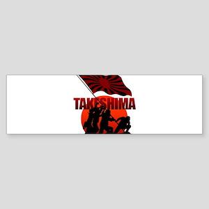 takeshima Sticker (Bumper)