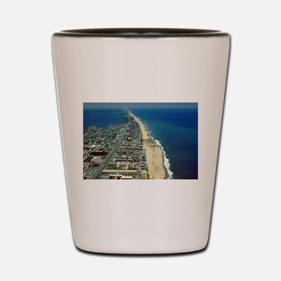 Aerial View of Ocean City Maryland Shot Glass