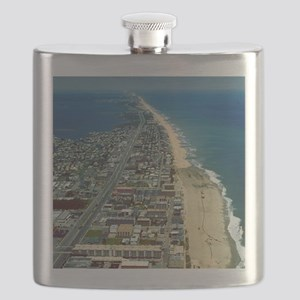 Aerial View of Ocean City Maryland Flask